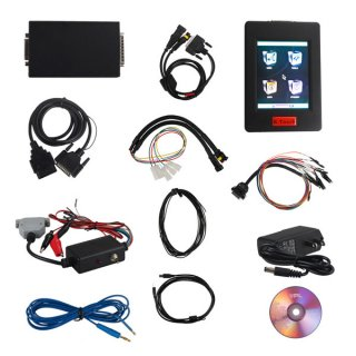 New Genius K-Touch & Flash Point OBDII/BOOT Protocols ECU Chip Tuning Tool Hand-Held KESS V2