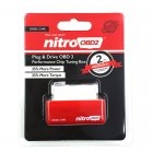 NitroOBD2 Plug & Drive OBD2 Performance Chip Tuning Red Box for Diesel cars