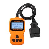 Autophix OM123 OBD2 EOBD CAN Hand-held Code Reader Orange Color Free Shipping