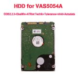 HDD For VAS 5054A ODIS3.0.3 + ElsaWin + ATRist_Techik + Tolerance + vivid + Autodata