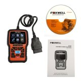 Original Foxwell NT301 CAN OBDII/EOBD Code Reader Free Update Online for Lifetime