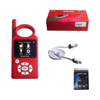 Handy Baby V7.0 Hand-held Car Key Copy Key Programmer for 4D/46/48 Chips