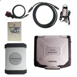 Porsche Piwis Tester II Piwis 2 tester full set with CF30 Laptop sofware v18.1