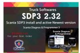 2017 Newest Scania VCI VCI2 SDP3 V2.32 Software for Trucks/ Buses Without USB Dongle