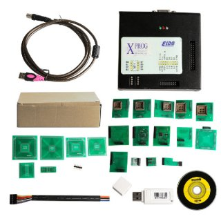 XPROG V5.70 XPROG-M Box ECU Programmer with USB Dongle Support Win7