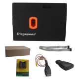 Original Diagspeed V1.06.08 OBD2 MB Key Programmer(Powerful than VVDI Benz BGA Tool) Supports All keys Lost